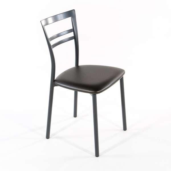 Chaise de cuisine en synthétique et métal - Go 1419 9 - 25