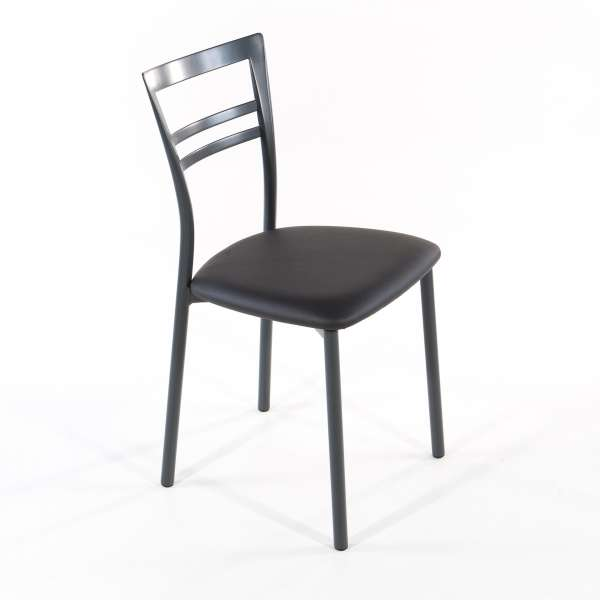 Chaise de cuisine en synthétique et métal - Go 1419 10 - 26
