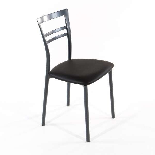 Chaise de cuisine en synthétique et métal - Go 1419 11 - 27