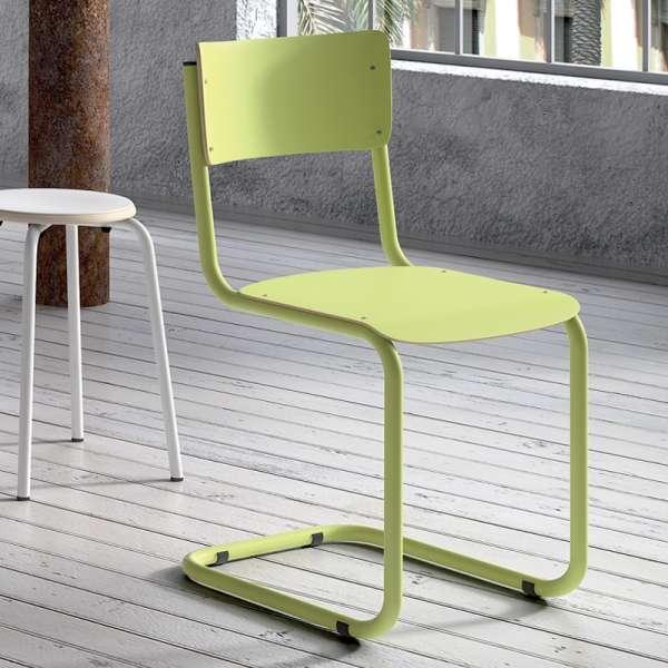 Chaise vintage en bois et métal - Vintage 1 - 1