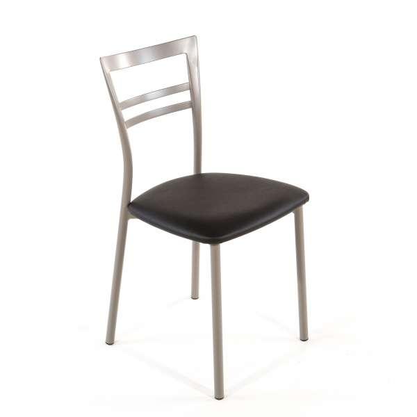Chaise de cuisine en synthétique et métal - Go 1419 24 - 39