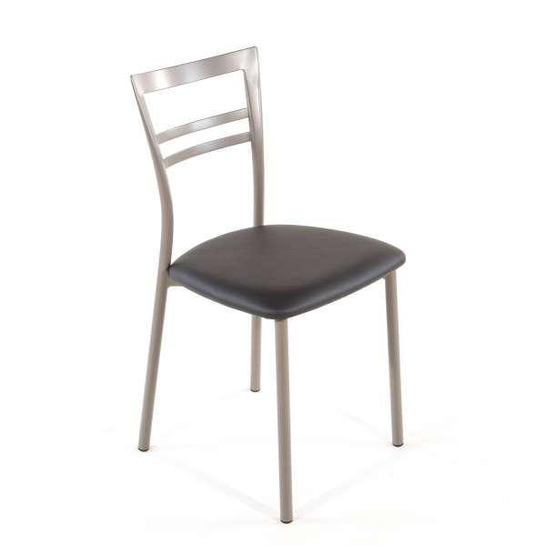 Chaise de cuisine en synthétique et métal - Go 1419 25 - 40