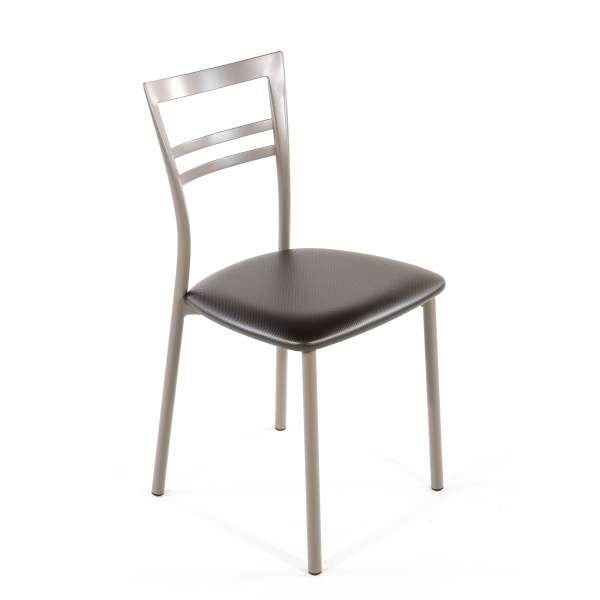 Chaise de cuisine en synthétique et métal - Go 1419 26 - 41