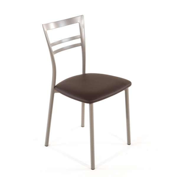 Chaise de cuisine en synthétique et métal - Go 1419 28 - 43