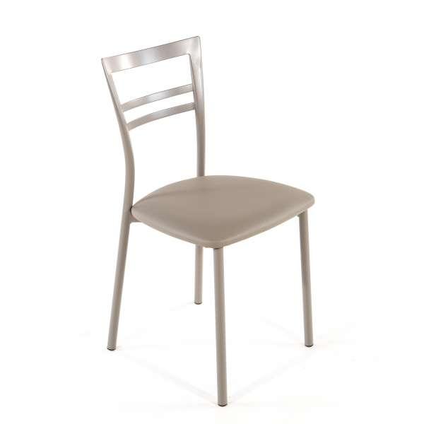 Chaise de cuisine en synthétique et métal - Go 1419 29 - 44