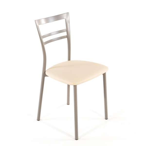 Chaise de cuisine en synthétique et métal - Go 1419 30 - 45