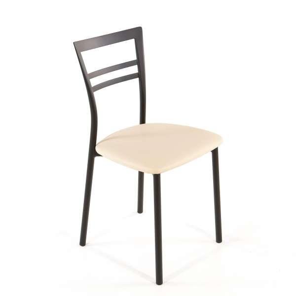 Chaise de cuisine en synthétique et métal - Go 1419 39 - 52