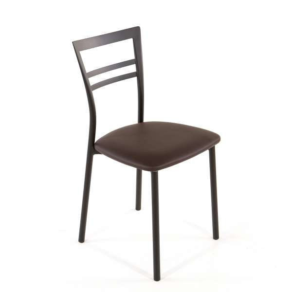 Chaise de cuisine en synthétique et métal - Go 1419 41 - 54