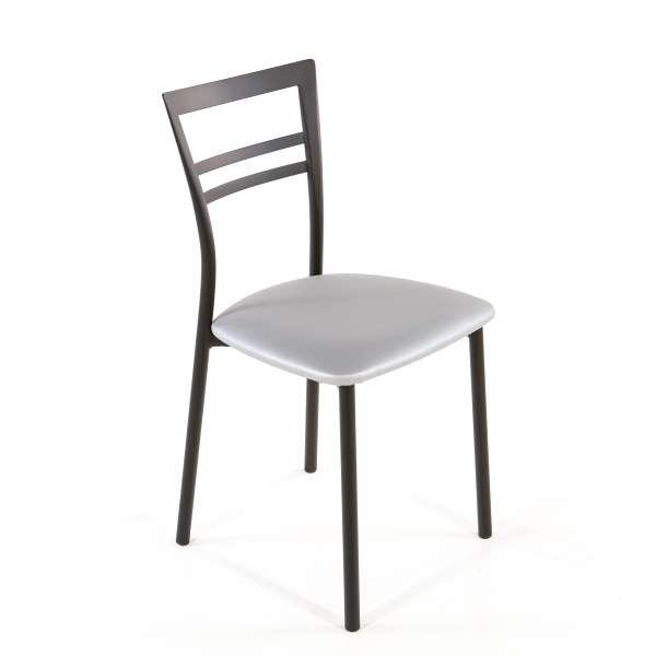 Chaise de cuisine en synthétique et métal - Go 1419 42 - 55
