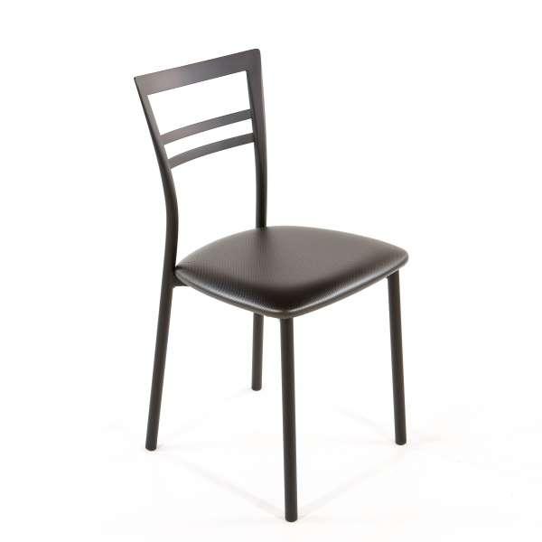 Chaise de cuisine en synthétique et métal - Go 1419 43 - 56