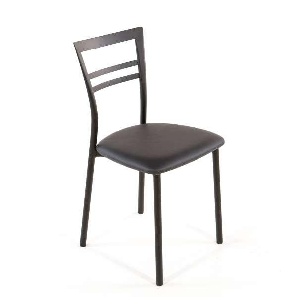 Chaise de cuisine en synthétique et métal - Go 1419 44 - 57