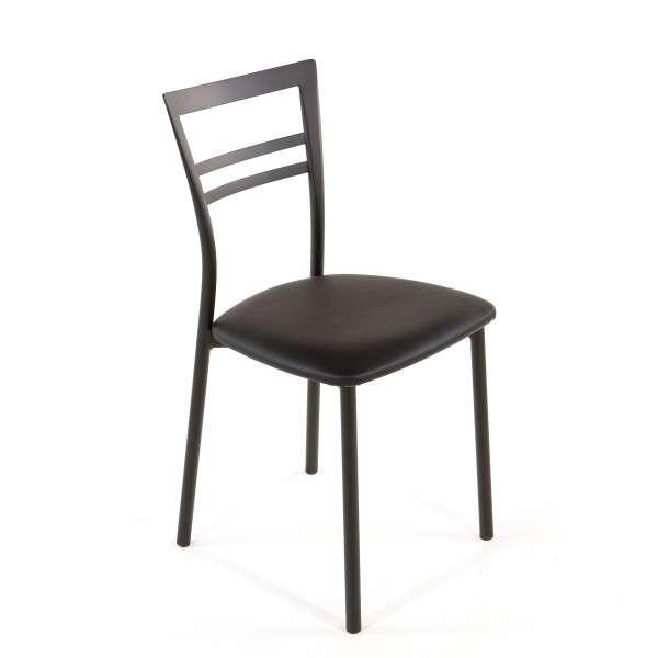 Chaise de cuisine en synthétique et métal - Go 1419 45 - 58