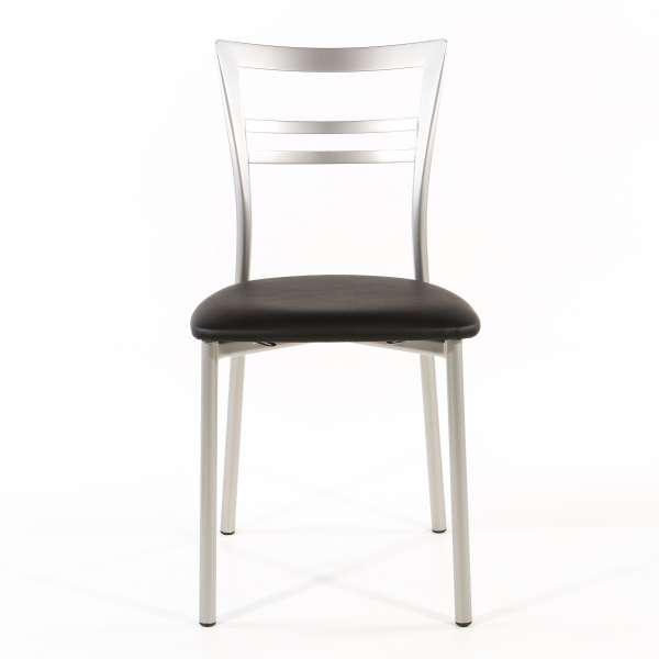 Chaise de cuisine en synthétique et métal - Go 1419 46 - 59