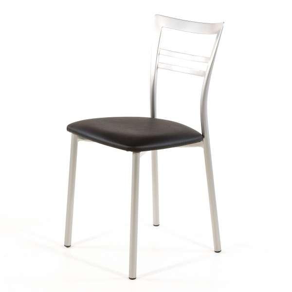 Chaise de cuisine en synthétique et métal - Go 1419 52 - 65