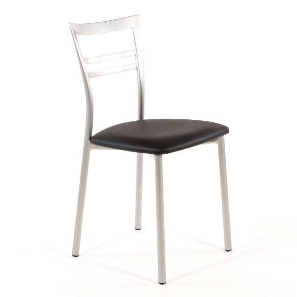 Chaise de cuisine en synthétique et métal - Go 1419 53 - 66