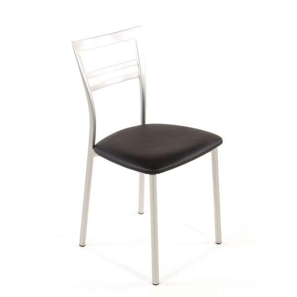 Chaise de cuisine en synthétique et métal - Go 1419 54 - 67