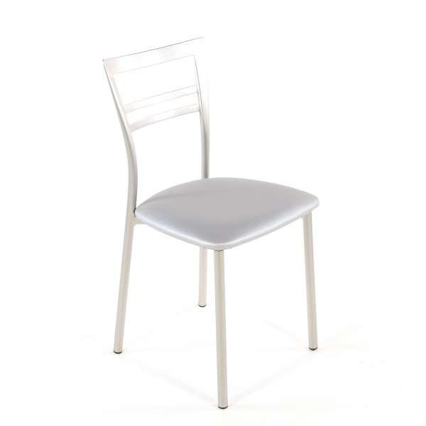 Chaise de cuisine en synthétique et métal - Go 1419 124 - 70