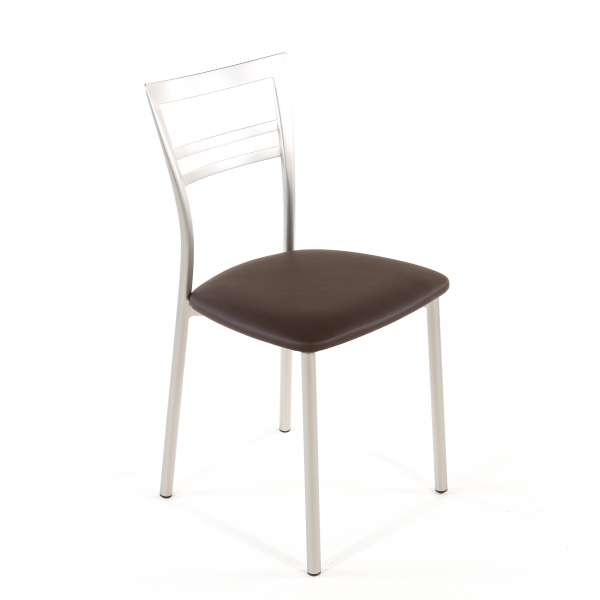 Chaise de cuisine en synthétique et métal - Go 1419 125 - 71