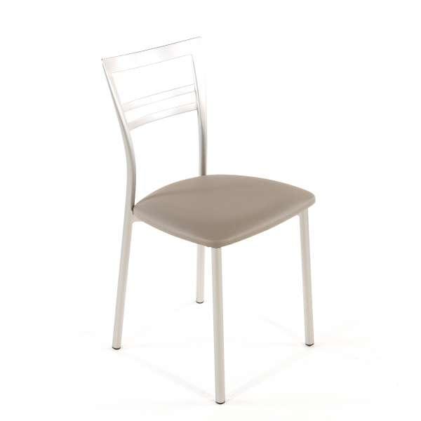 Chaise de cuisine en synthétique et métal - Go 1419 126 - 72