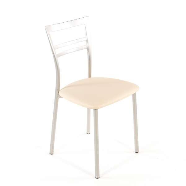 Chaise de cuisine en synthétique et métal - Go 1419 127 - 73