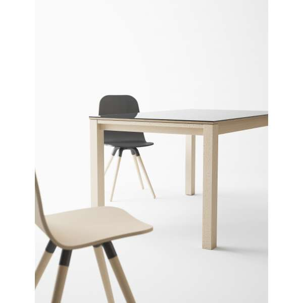 Table en verre extensible - Table Quadra 2 - 4
