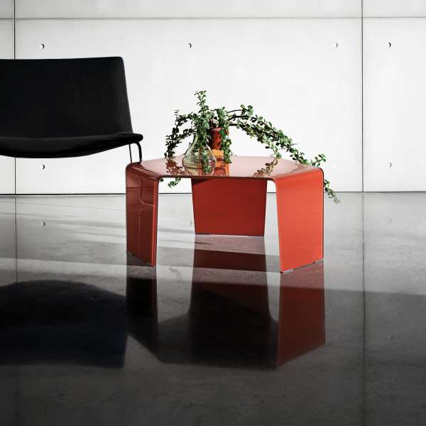 Table basse design en verre - 3 Feet Sovet®