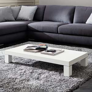 Table basse contemporaine en bois - Anna 2