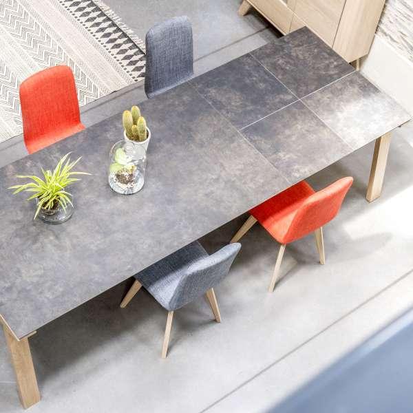 Table de salle à manger extensible en céramique rectangulaire - Cera concept V 8 - 8