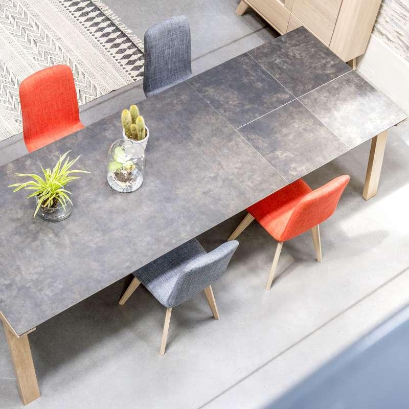 Table De Salle A Manger Extensible En Ceramique Rectangulaire Cera Concept V
