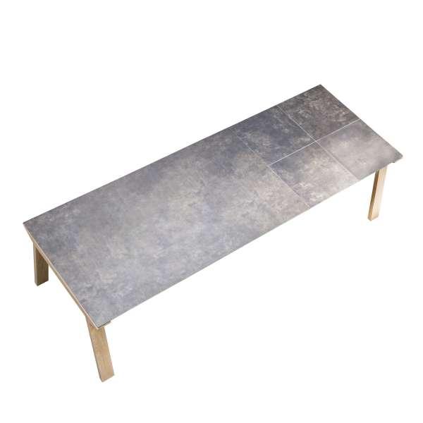 Table de salle à manger extensible en céramique rectangulaire - Cera concept V 9 - 9