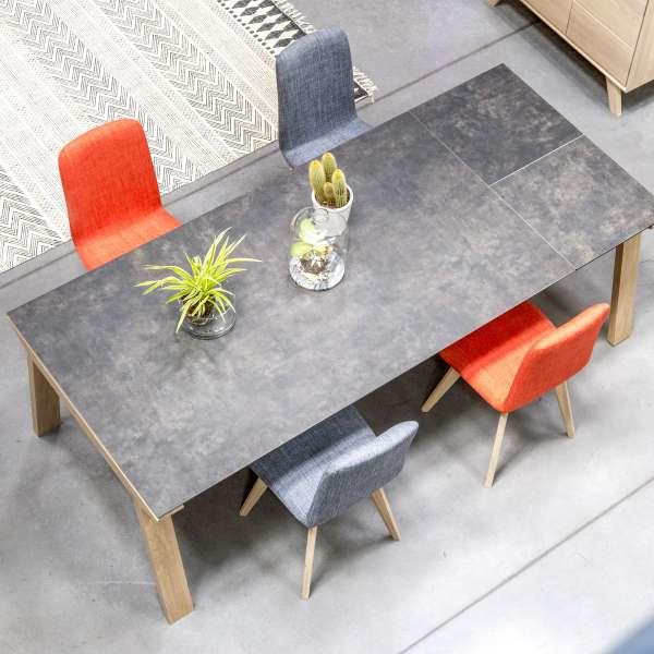 Table de salle à manger extensible en céramique rectangulaire - Cera concept V 6 - 6
