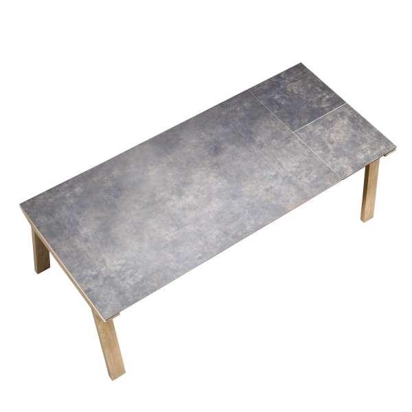 Table de salle à manger extensible en céramique rectangulaire - Cera concept V 7 - 7
