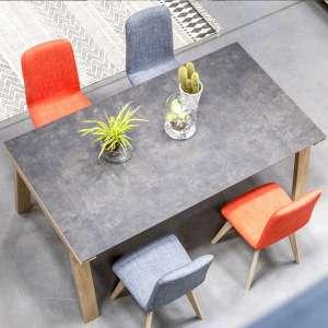 Table de salle à manger en céramique rectangulaire - Cera concept V