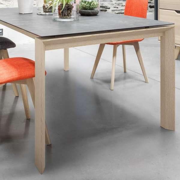 Table de salle à manger extensible en céramique rectangulaire - Cera concept V 10 - 10