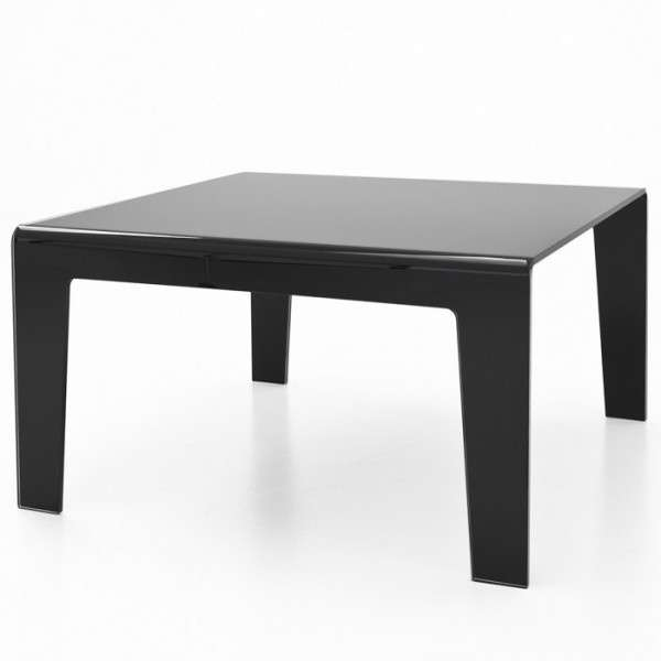 Table design rectangulaire ou carrée en verre - Frog Sovet® 6 - 6