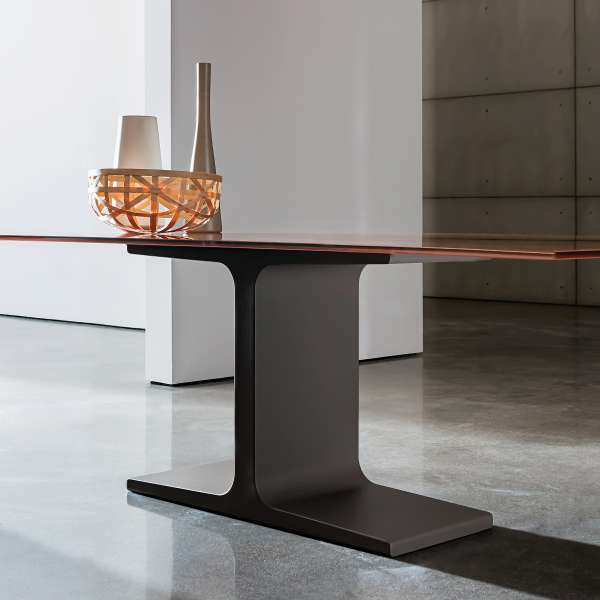 Table design en verre rectangulaire - Palace Sovet® 11 - 4