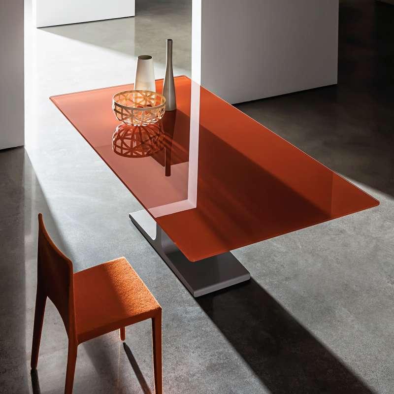 verre rectangulaire en salle Palace design Table de Sovet® à manger uclFKT13J