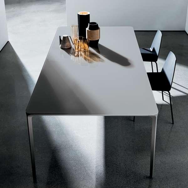 Table en verre design extensible - Slim Sovet® 3 - 4