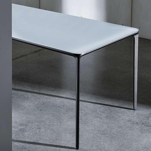 Table en verre design extensible - Slim Sovet® 4 - 5