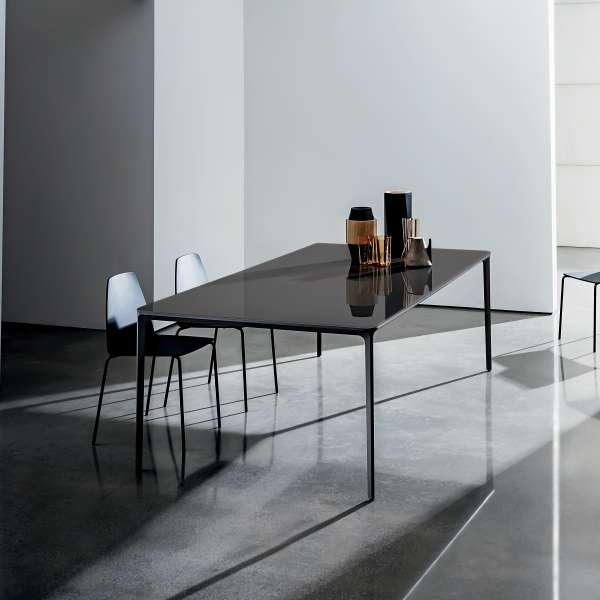 Table design rectangulaire en verre - Slim Sovet® - 1