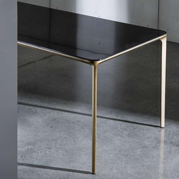 Table design rectangulaire en verre - Slim Sovet® 4 - 4