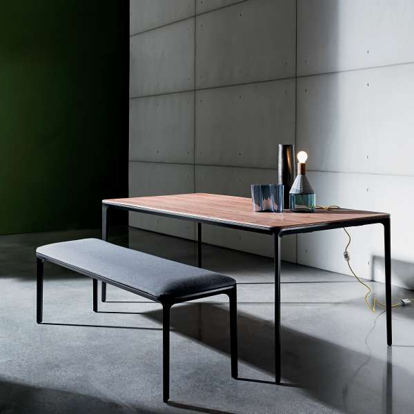 Table design plateau bois - Slim Sovet® - 1