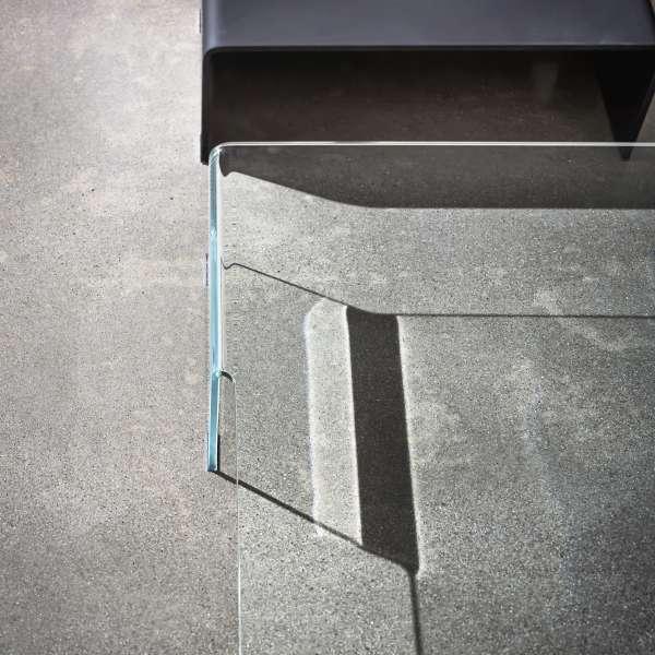 Table basse design rectangulaire en verre - Spider Sovet® 7 - 5