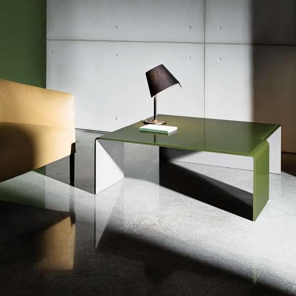Table basse design rectangulaire en verre - Spider Sovet® 8 - 9