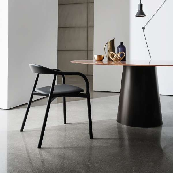 Table ronde design en verre - Totem Sovet® 3 - 3