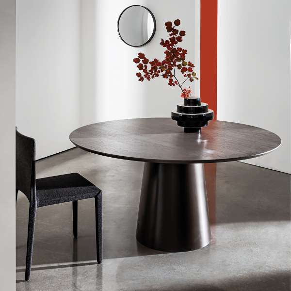 Table design plateau bois - Totem Sovet® 6 - 1