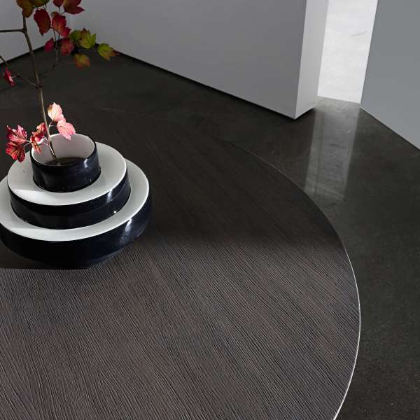 Table design plateau bois - Totem Sovet® 7 - 2