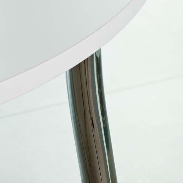 Table de cuisine ovale en stratifié - Elli 2 - 2