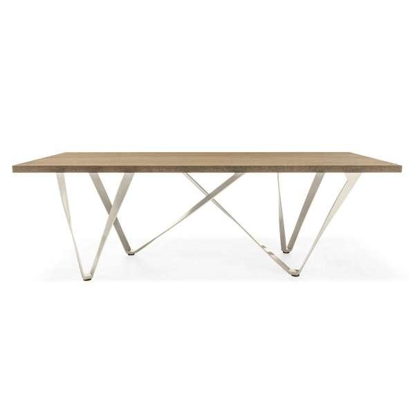 Table design en métal et bois - Wave 6 - 7