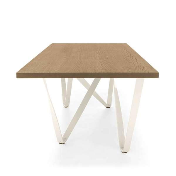 Table design en métal et bois - Wave 7 - 8